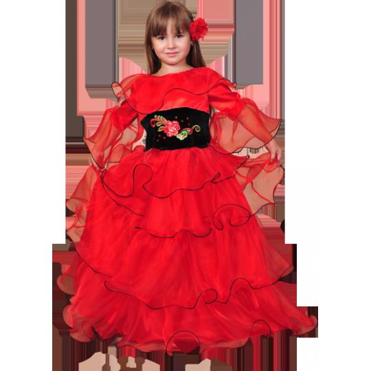 Карнавальный костюм Испанская красавица - Кармен №2, Цыганка