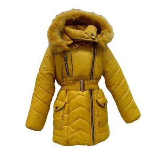 Пальто для девочки зимнее София