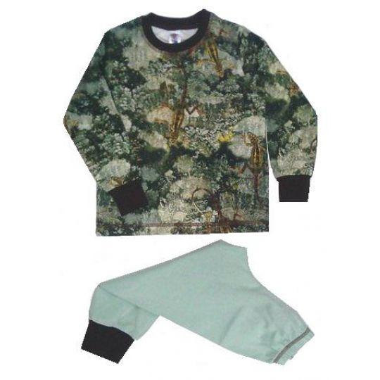 Пижама для мальчика Природа Ящерица 785