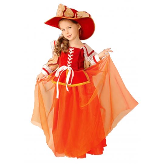 Карнавальный костюм Дама мушкетера - Констанция 9209