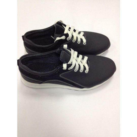 Туфли - кроссовки кожаные для мальчика КП-93