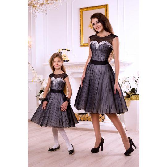 Платье Family look M1701