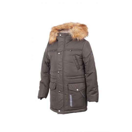 Куртка для мальчика 3291 хаки ТМ Alfonso