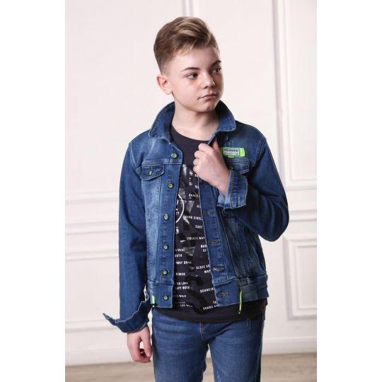 Джинсовая куртка 17295 ТМ A-Yugi Jeans
