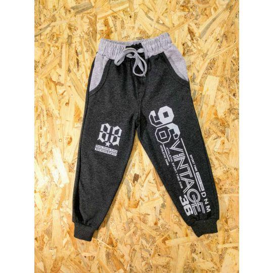 Спортивные брюки 96VINTAGE36 темно серые