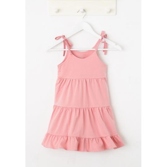 Платье сарафан розовое 765-421