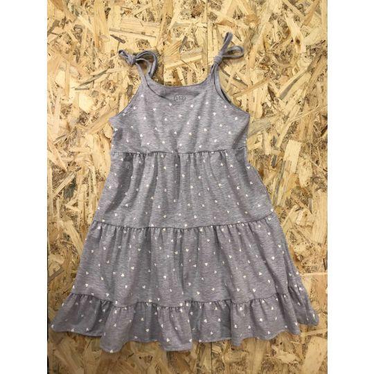 Платье сарафан серое 765-421