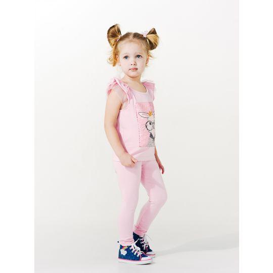 Лосины Нарядная одежда 115369  розовые