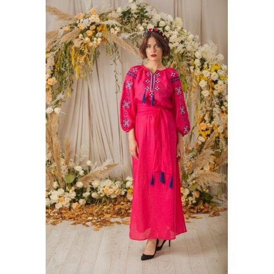 Платье вышиванка Лада