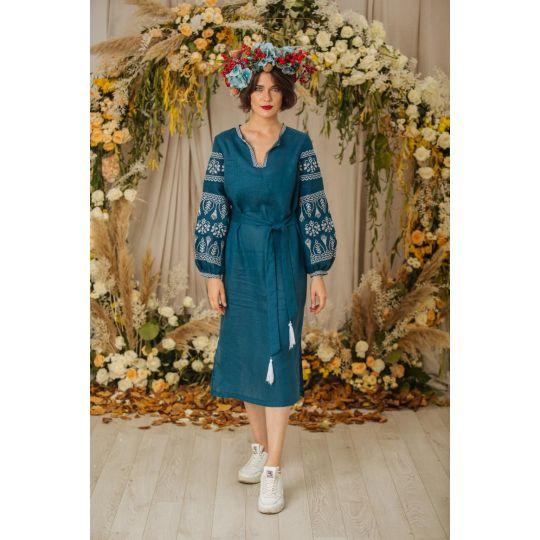 Платье вышиванка Купава