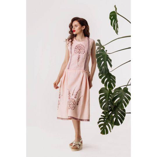 Платье вышиванка Нежная