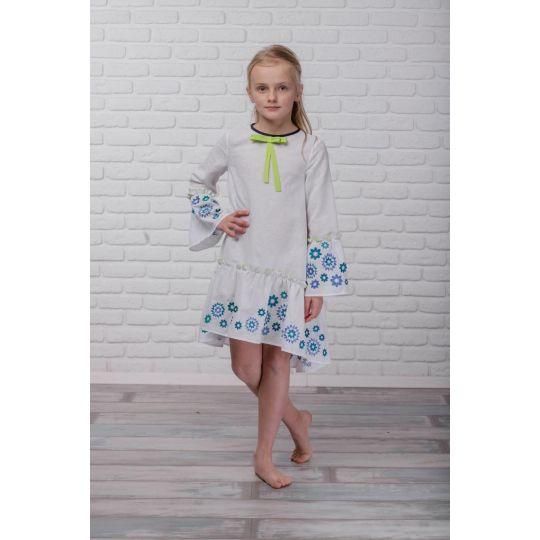Платье вышиванка Звездная