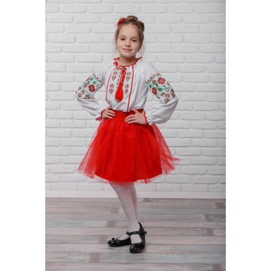 Юбка Украинская Земляничка