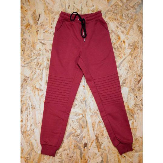 Спортивные брюки Джоггеры G28-A бордо.