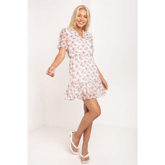 Платье Амсона 5190 молочное