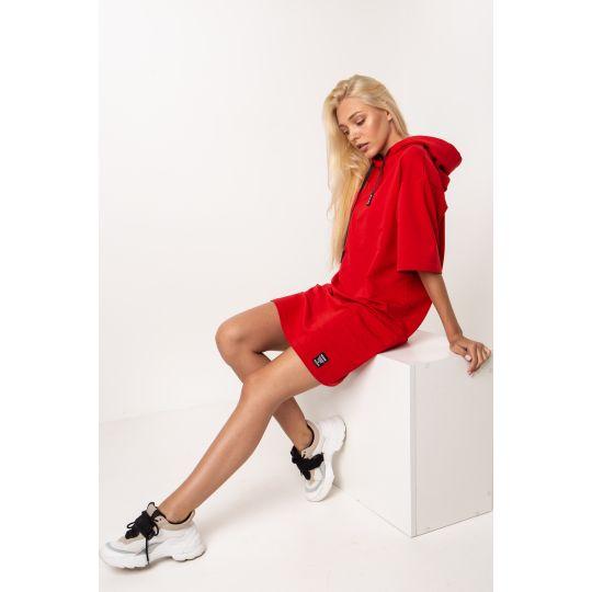 Платье Талавери 5275 красное