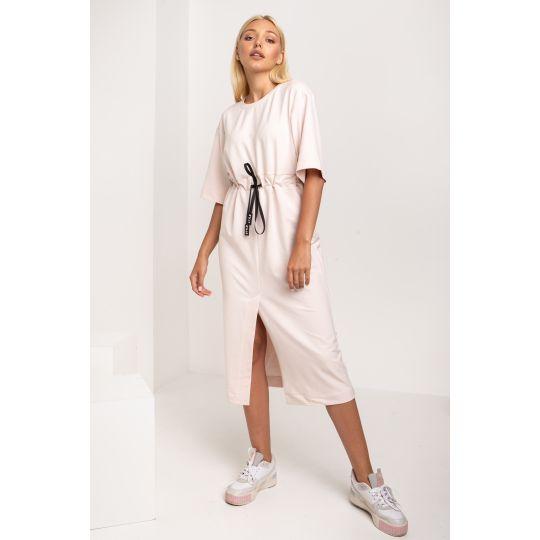 Платье Батиста 5310 бледно розовое