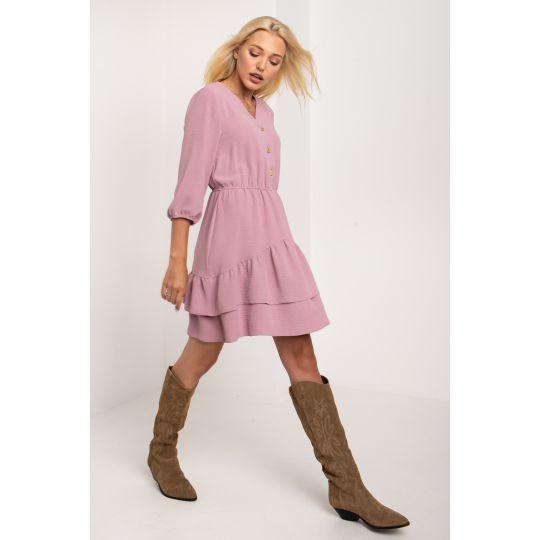 Платье Руби 5263 пудра