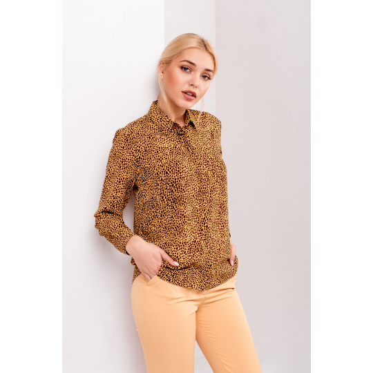 Блуза Тритани 4881 горчичная