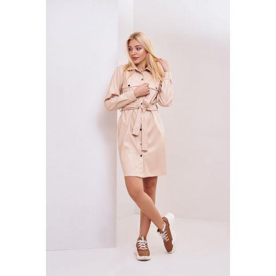 Платье Минди 4699 кремовое