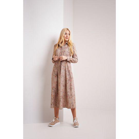 Платье Жаклин 4813 бежевое