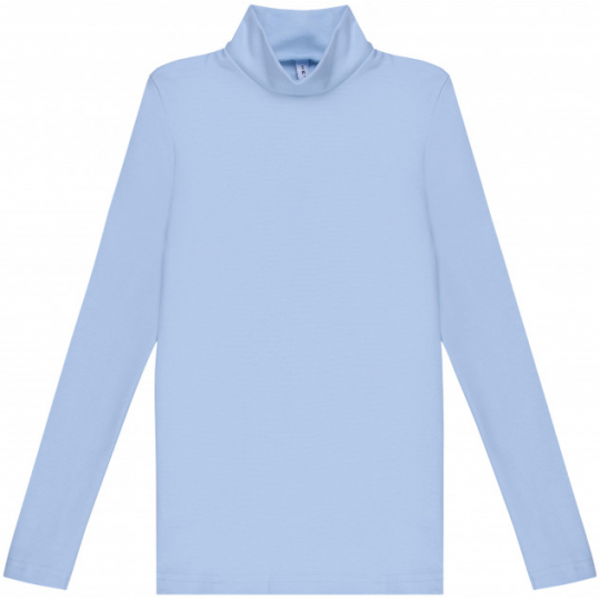 Гольф для девочки голубой 114650/114651 стойка