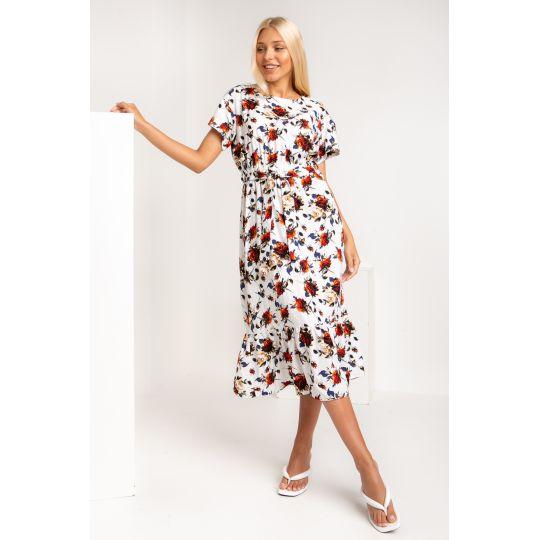 Платье Палисота 5357 оранжевое