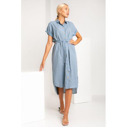 Платье Баролла 5441 джинс