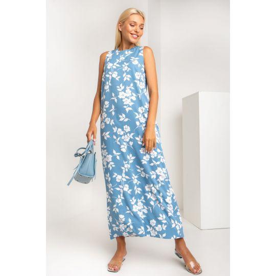 Платье Телиана 5354 голубое