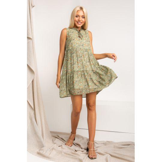 Платье Телиана 5355 оливковое