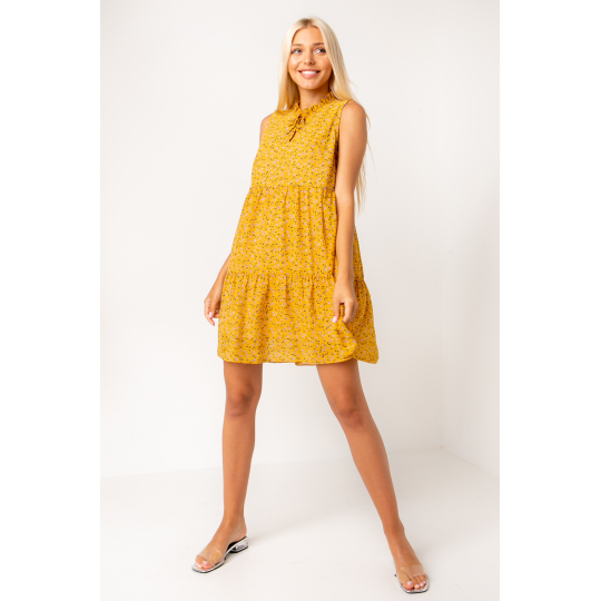 Платье Торрес 5367 желтое