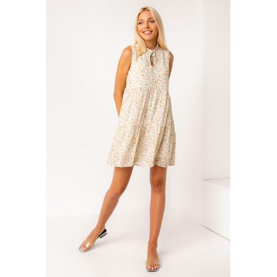 Платье Торрес 5368 светло молочное