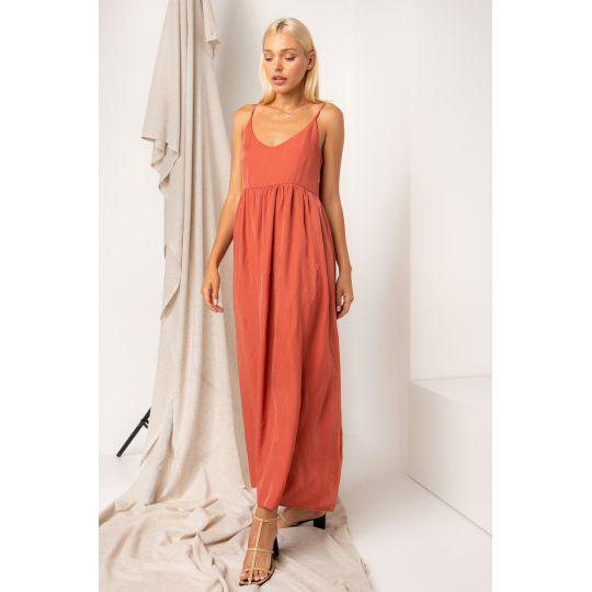 Платье Мулен 5373 теракотовое