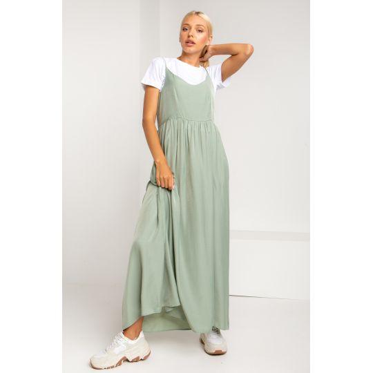 Платье Мулен 5371 фисташковое