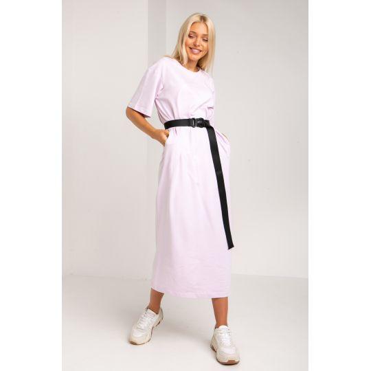 Платье Кремери 5386 лавандовое