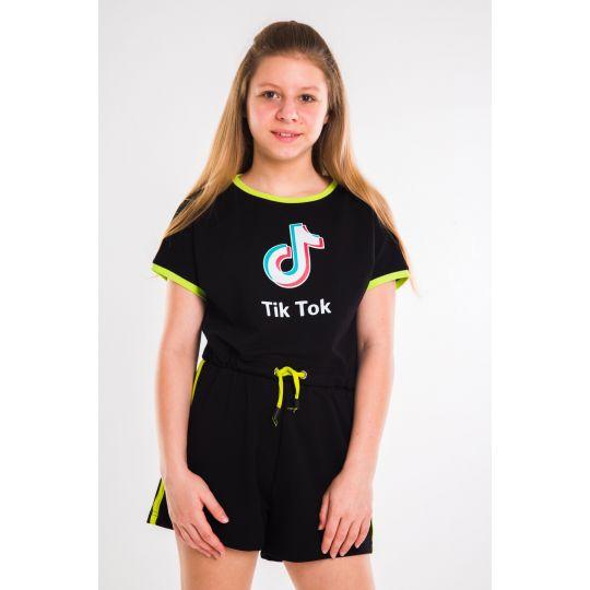Футболка Трина черная