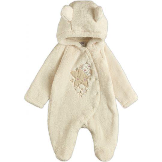 Комбинезон для малыша 12103-25 светло-молочный