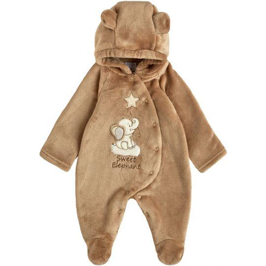 Комбинезон для малыша 12102-25 капучино