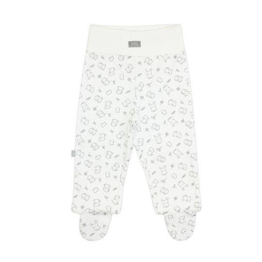 Ползунки-штанишки 107324 белые