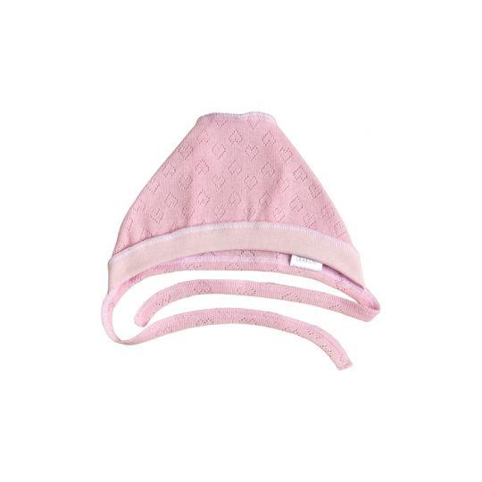 Шапочка чепчик 25260-88 Секретная миссия розовый ажур