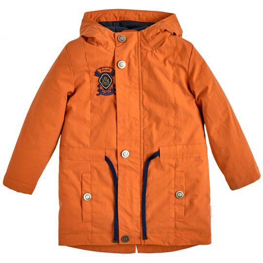 Куртка демисезонная для мальчика 105559-40 терракотовая