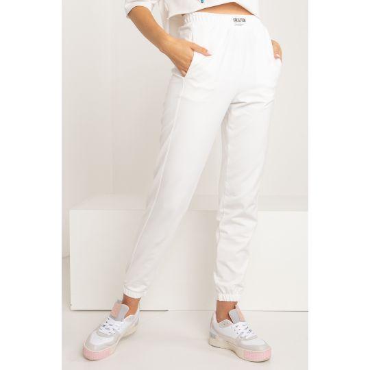 Спортивные штаны Атрия 5120 светло молочные