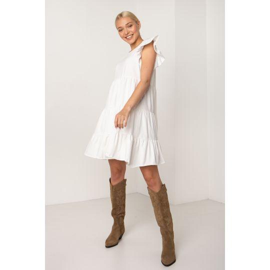 Платье Макарея 5145 молочное