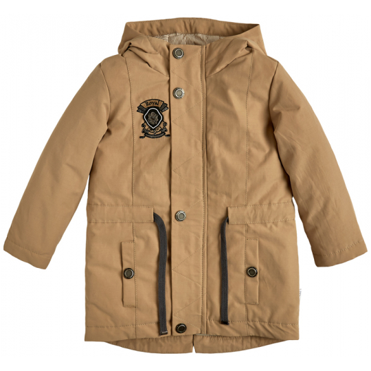 Куртка демисезонная на мальчика 105559-40-26 кофе с молоком