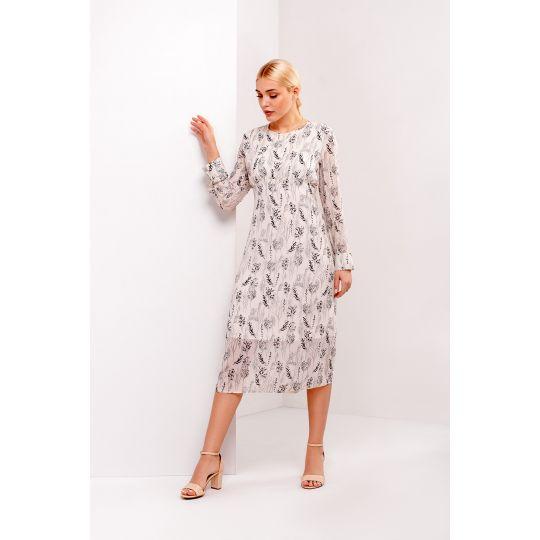 Платье Одри 4936 молочное