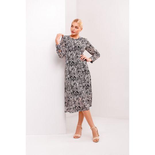 Платье Одри 4934 черное