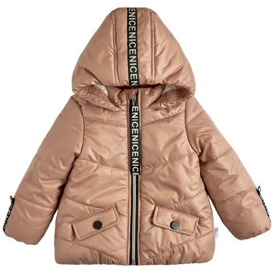 Куртка демисезонная для девочки 105557-36 пудра