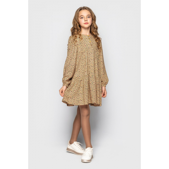 Платье для девочки Хэйли желтое