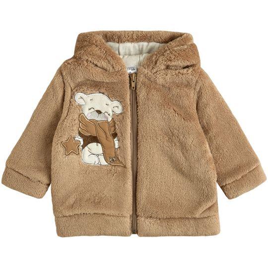 Куртка демисезонная для малыша 105573-25 кофейная