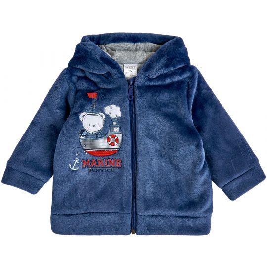 Куртка демисезонная утеплённая 105570-25 синяя